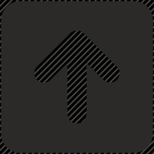 Arrow Keyboard Navigation Top Up Icon