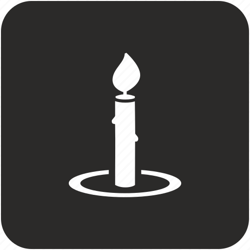 candle, candlestick, chamberstick icon