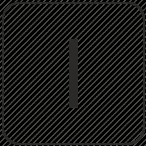 keyboard, l, letter, lowcase, virtual icon