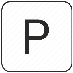 alphabet, keyboard, latin, letter, p, uppercase, virtual icon