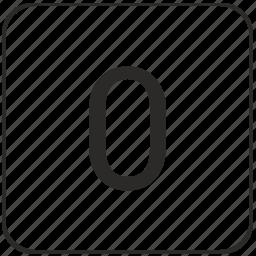 atm, keyboard, number, virtual, zero icon