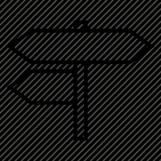 direction, navi, navigation, sign, way icon