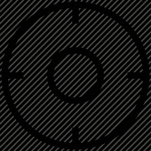 crosshair, crossing, exact location, focusing, targeting icon