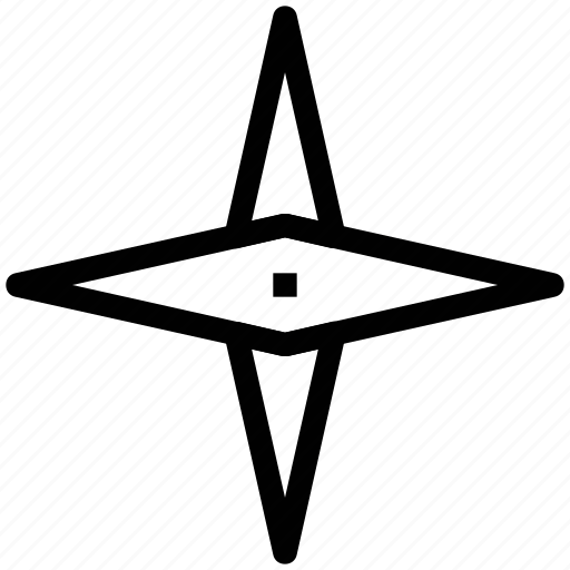 compass needles, compass rose, direction, navigation icon