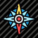 compass, navigation, arrow, up, direction
