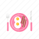 dinner, dish, food, romantic icon