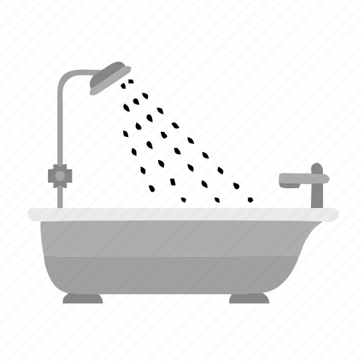 bath, bathroom, hotel, natural, shower, spa icon