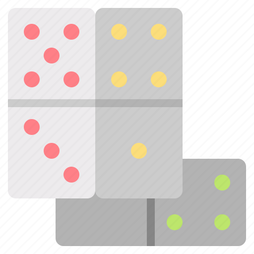 and, dominoes, free, game, hobbies, leisure, time icon