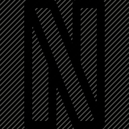 movie, netflix, online, ribbon, streaming icon