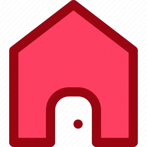 front, home, house, page, website icon