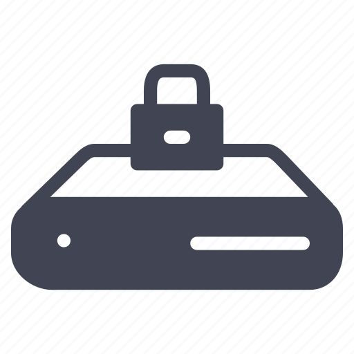 lock, locked, network, safety, security, server icon