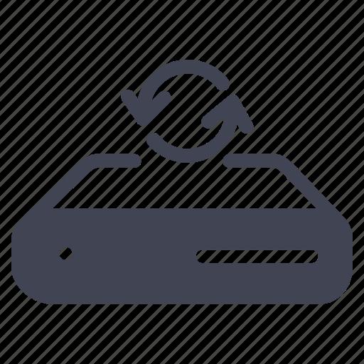 arrow, arrows, network, refresh, server icon
