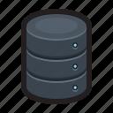 database, storage, server, cloud, data