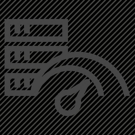 network, speed, speedometer icon