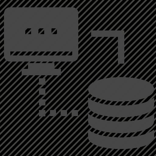 hardware, hosting, server icon
