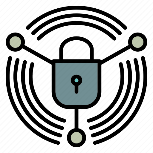 lock, network, private, secure, sharing icon