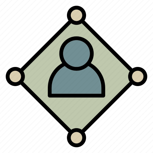 connection, data, network, profile, user icon