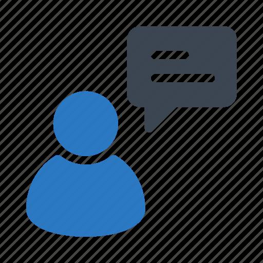 account, bubble, message, profile, user icon