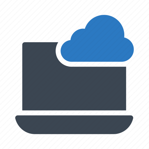 cloud, database, notebook, server, storage icon