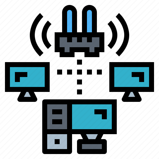 Area, lan, local, network, technology icon - Download on Iconfinder