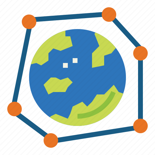 earth, international, media, network, social icon