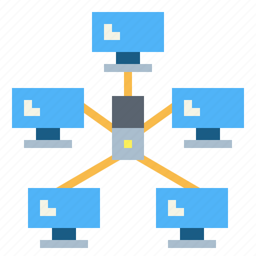 Connection, link, network, networking, star icon - Download on Iconfinder