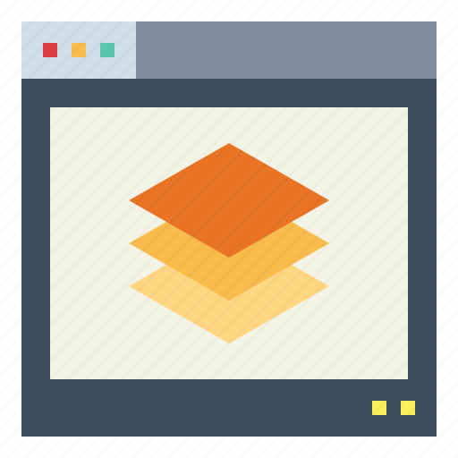 Internet, layer, multiple, network, processor icon - Download on Iconfinder