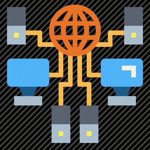 Computer, overload, server, traffic icon - Download on Iconfinder