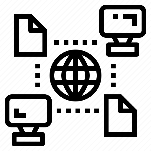data, network, sync, synchronize icon