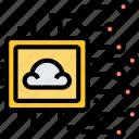 cloud, processor, digital, microchip, computer