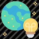 creative, global, idea, network, worldwide icon