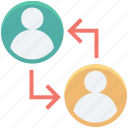 collaboration, group, people, team, users icon