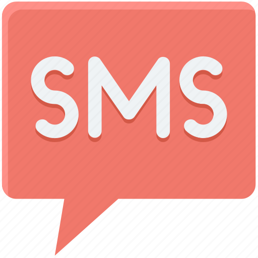 chatting, mobile massage, sms, sms balloon, sms messenger icon