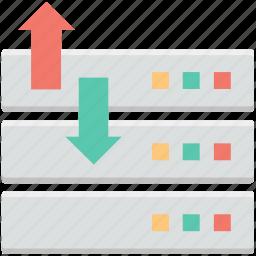arrows, data exchange, data transfer, left arrow, right arrow icon