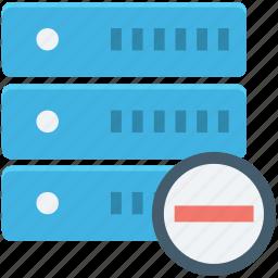 database, network server, remove server, server connection, web hosting icon