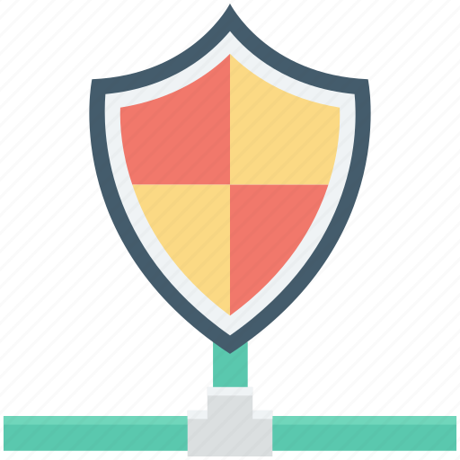 cyberspace firewall, global defence, information password, network protection, network shield icon