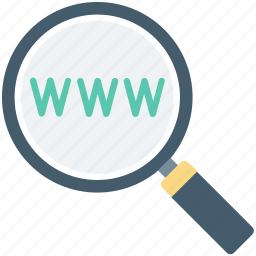 page, search domain, url, web, web searching, website icon