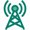 antenna, booster, internet, network, satellite, signal, tower icon