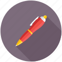 ballpen, ballpoint, pen, stationery, writing icon