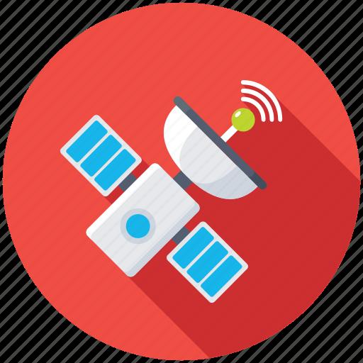 broadcasting, radio communications, satellite, satellite communication, technology icon