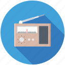 radio station, radio, retro radio, radio set, old radio