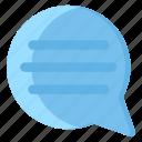 chat bubble, conversation, empty chat, message, speech bubble icon