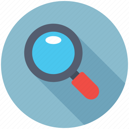Magnifier, search tool, loupe, searching, zoom icon
