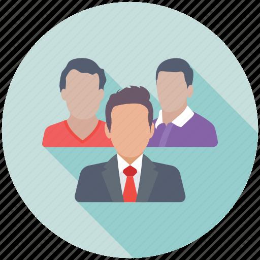 group, leadership, management, staff, team icon