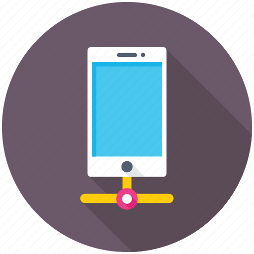 mobile communication, mobile connection, mobile infrastructure, mobile network, mobile technology icon