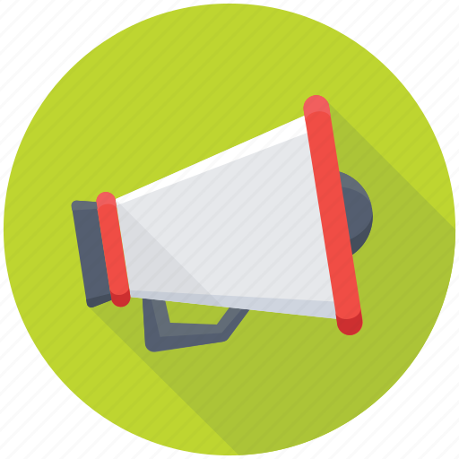Alert, announcement, bullhorn, loud hailer, megaphone icon - Download on Iconfinder