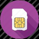 chip, microchip, phone sim, sim, sim card