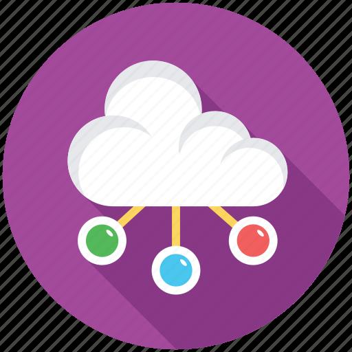 cloud computing, cloud hosting, cloud network, cloud service, computing icon