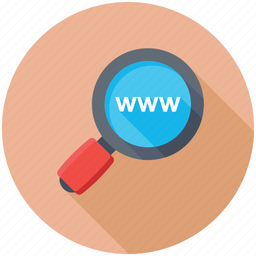 Url, domain, www, internet connection, browsing icon