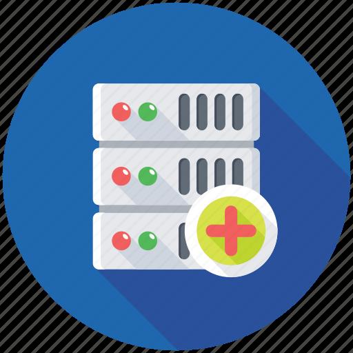 databank, database, network hosting, networking, server network icon